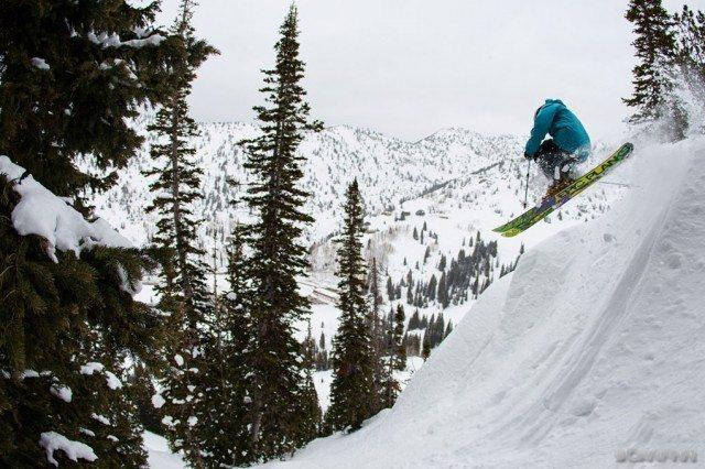 Jason Hutchins, Garbage Chutes, Alta Ski Area.