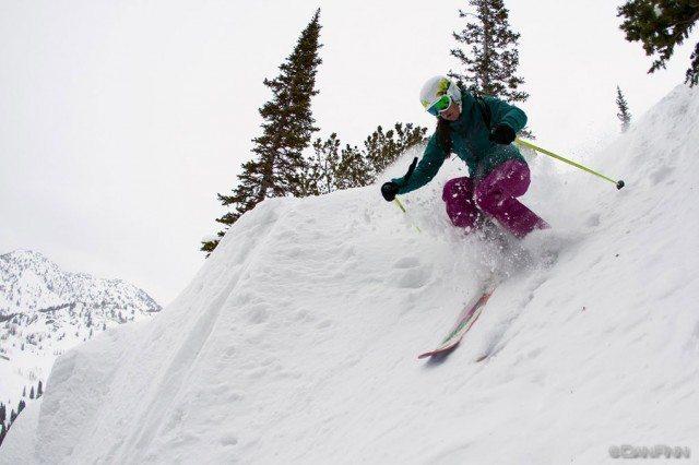 Lexi Dowdall, High Nowhere, Alta Ski Area.