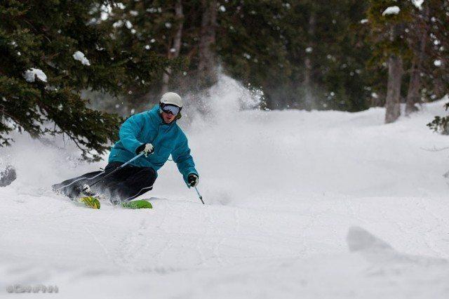 Jason Hutchins, North Rustler, Alta Ski Area.