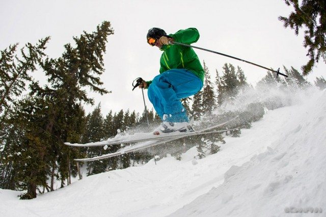Jonathan Ellsworth, Wildcat Bowl, Alta Ski Area.