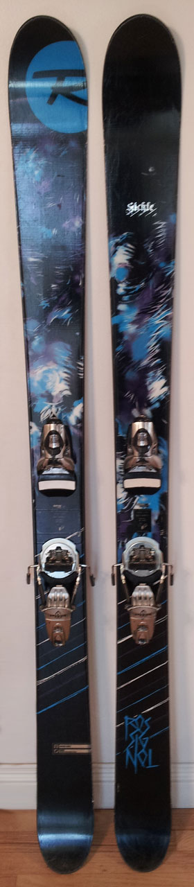 Rossignol Sickle Topsheets, Blister Gear Review