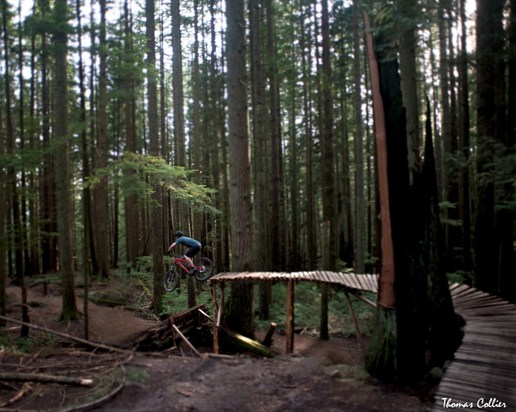 Tom Collier riding the Avalanche Chubie in Vancouver, Blister Gear Review