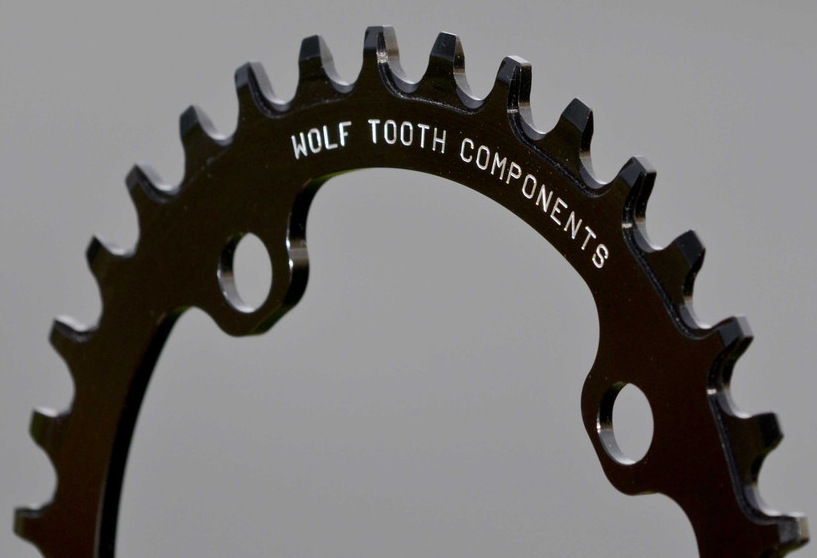 Wolf Tooth Chainring, Blister Gear Review.