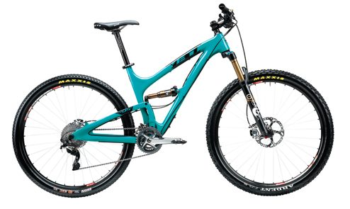2014 Yeti SB95 Carbon, Blister Gear Review.