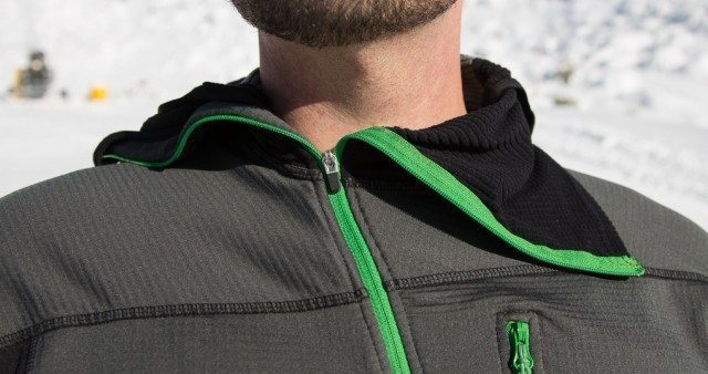 Mountain Equipment Eclipse Hooded Zip Tee, Blister Gear Review.
