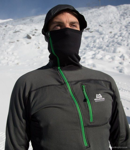 Mountain Equipment Hooded Zip Tee, Blister Gear Review.