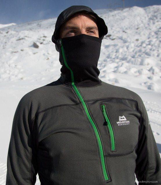 Mountain Equipment Hooded Zip Tee, Blister Gear Review.