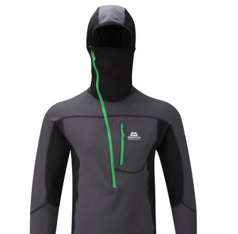 mountain equipment eclipse hooded zip tee, recommended