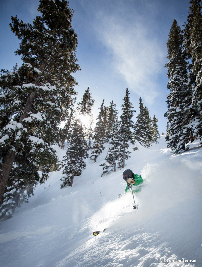 Jonathan Ellsworth in the Smith Vantage, Taos, Blister Gear Review