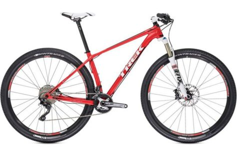 Trek Superfly 8, stock