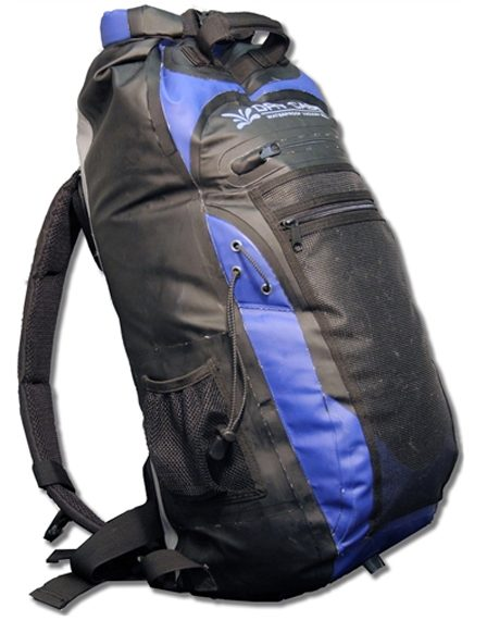 dry case waterproof backpack, Blister Gear Review.
