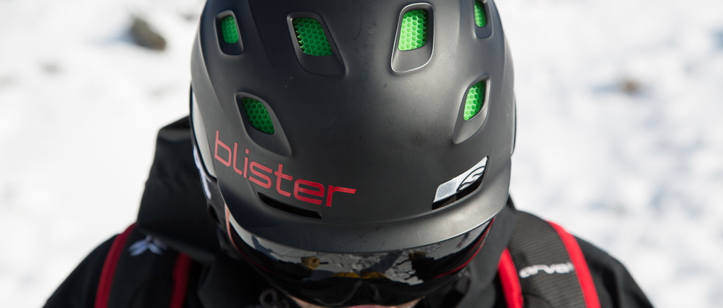 Jonathan Ellsworth in the Smith Vantage helmet, Blister Gear Review