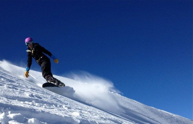 Chrissy Scarpitti, Taos Ski Valley, Blister Gear Review