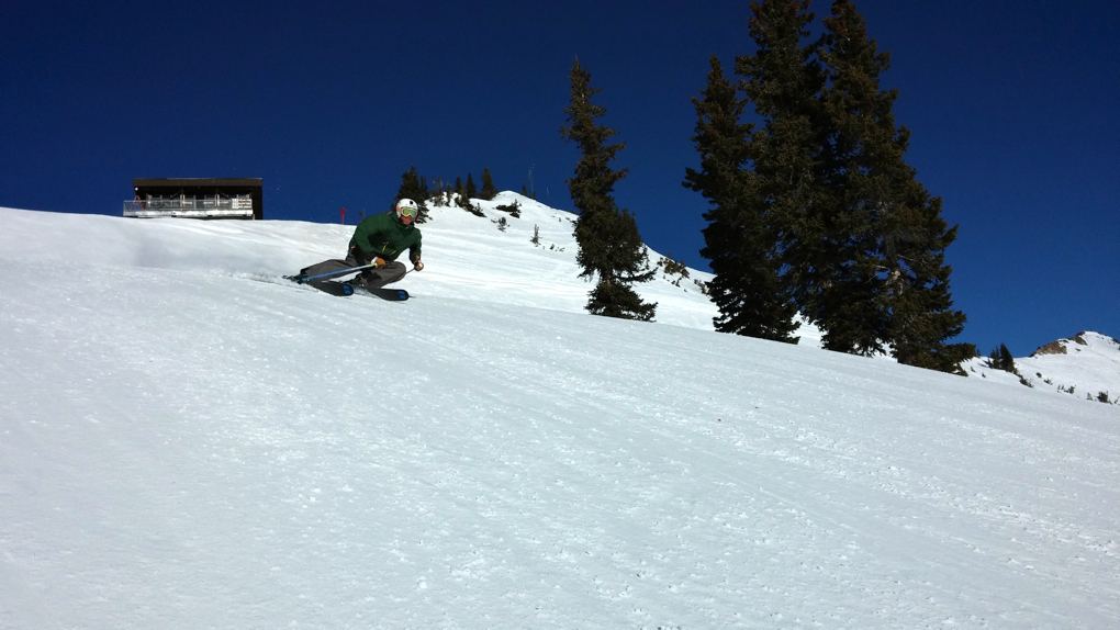 Brett Carroll reviews the Armada TST from Alta Ski Area for Blister Gear Review