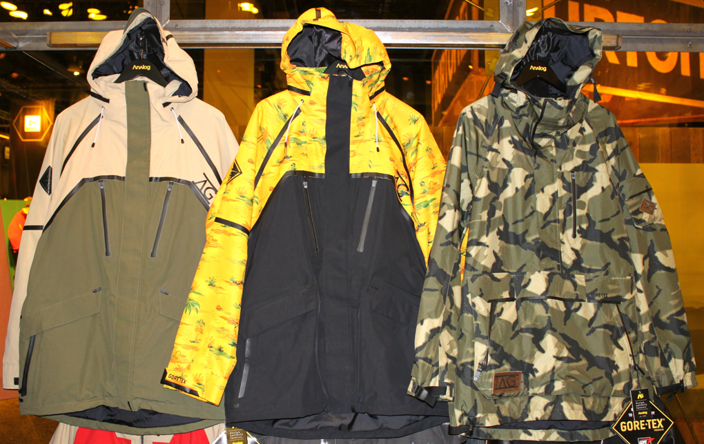 Analog Jackets, SIA, Blister Gear Review