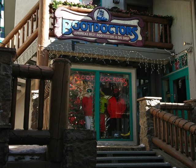 Boot Doctors Taos Ski Valley, Blister Recommended Shop