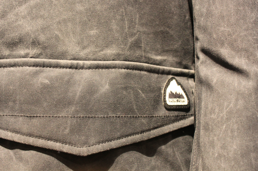 Distressed Burton Jacket, SIA coverage, Blister Gear Review