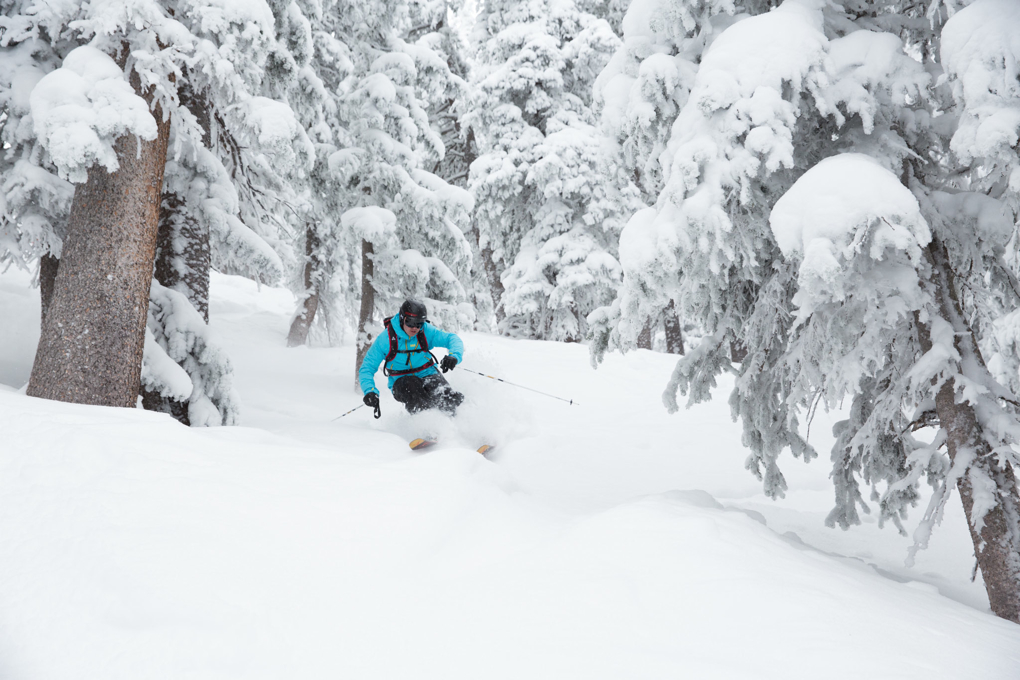 Jonathan Ellsworth, Twin Trees, Taos Ski Valley, Blister Gear Review