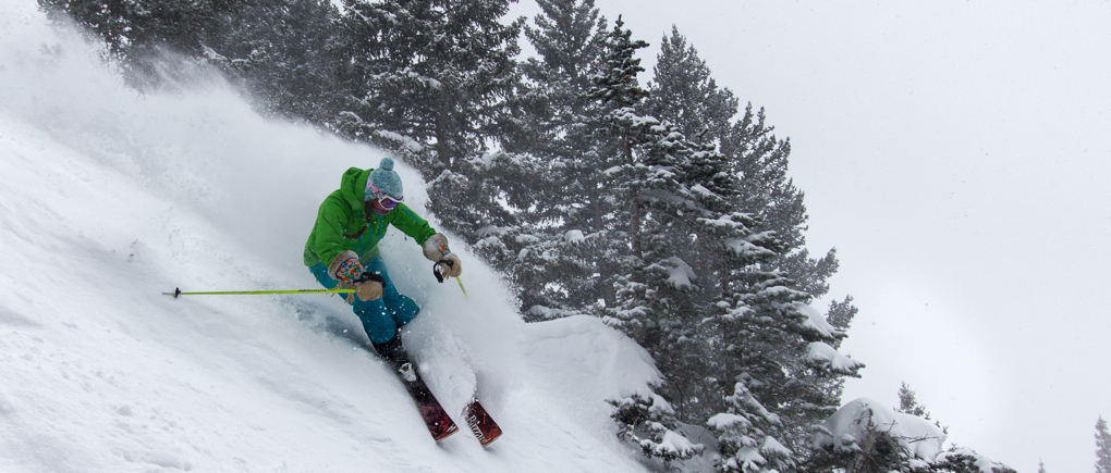 Lexi Dowdall reviews the Blizzard Samba at Alta Ski Area for Blister Gear Review