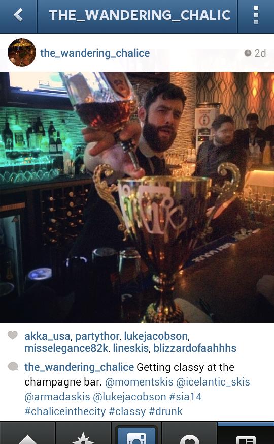 SIA 2014, karaoke chalice, Blister Gear Review