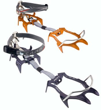 review of the CAMP race 290 crampons, Blister Gear Review
