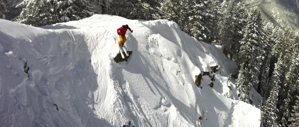 Jonathan Ellsworth reviews the Volkl V Werks Katana at Taos Ski Valley for Blister Gear Review