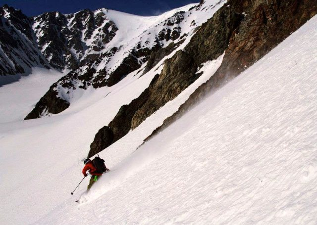 Mike Thurber on the Voile Charger, Alaska.