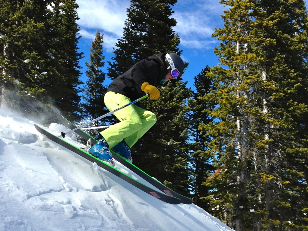 Morgan Sweeney on the Nordica Wildfire