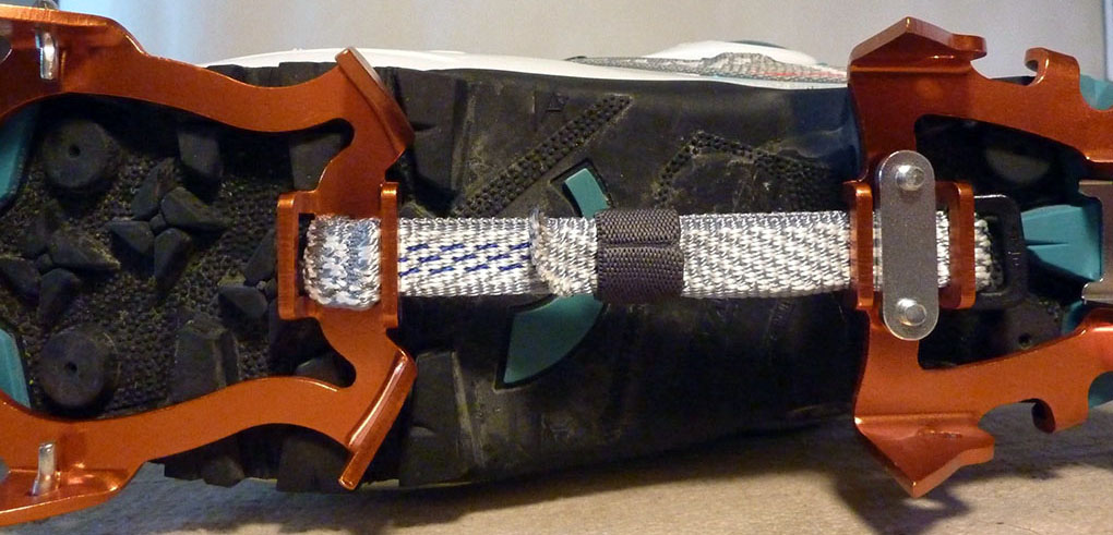 CAMP race 290 dyneema crampon blister gear review