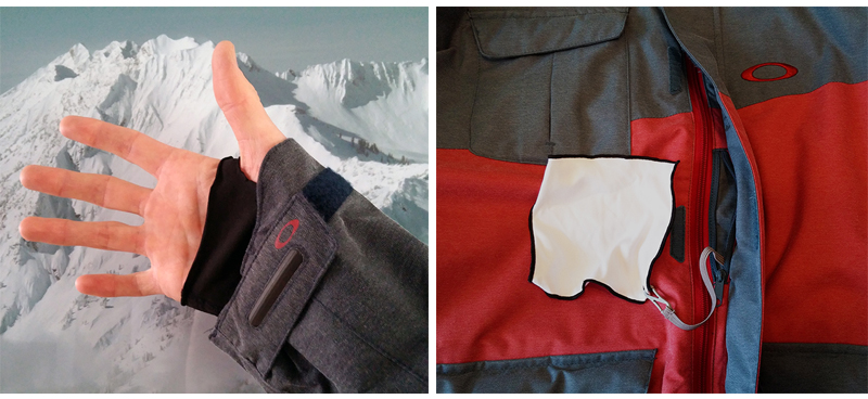 Jason Hutchins review the Oakley Cottage Jacket, Blister Gear Review