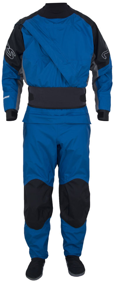 David Spiegel reviews the NRS Crux drysuit, Blister Gear Review