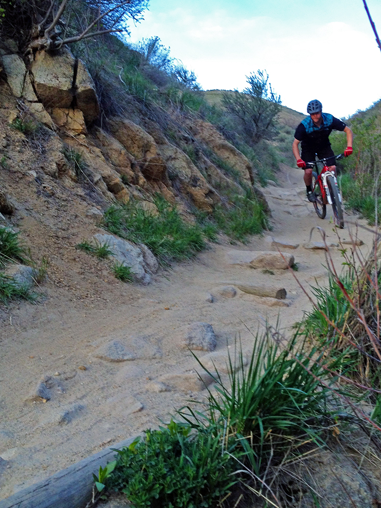 Eric Melson reviews the Trek Superfly 8, Blister Gear Review