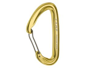 Matt Zia reviews the CAMP Photon Wire Straight Gate Carabiner, Blister Gear Review