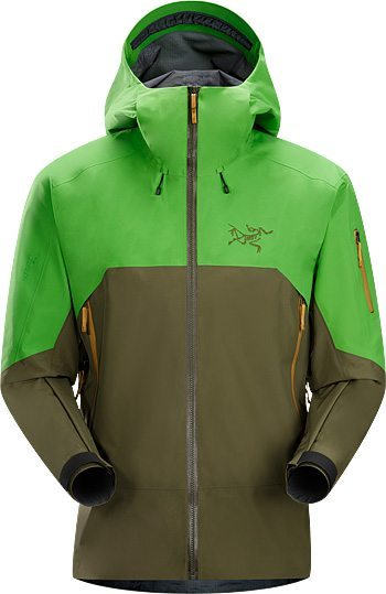 Paul Forward reviews the Arc'teryx Rush jacket, Blister Gear Review