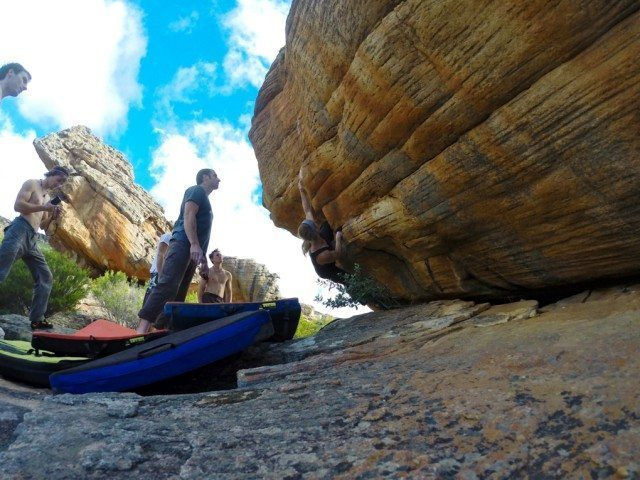 Rocklands, South Africa, Blister Gear Review.