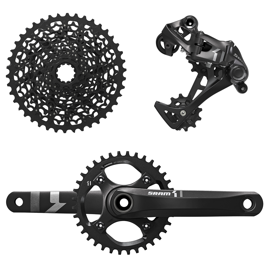 Noah Bodman reviews the SRAM X1, Blister Gear Review.