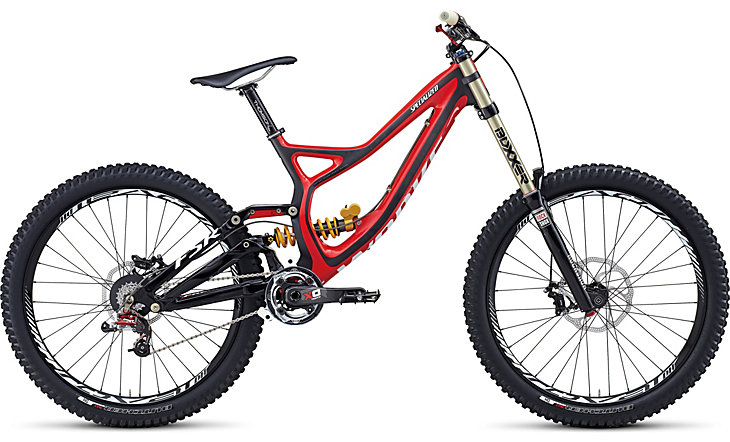 Noah Bodman reviews the Specialized S-Works Demo 8, Blister Gear Review.
