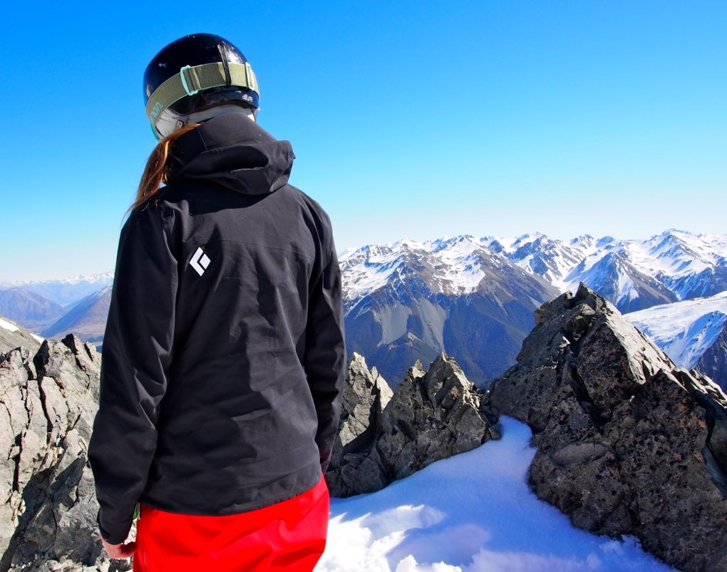 Julia Van Raalte reviews the Black Diamond Sharp End, Blister Gear Review