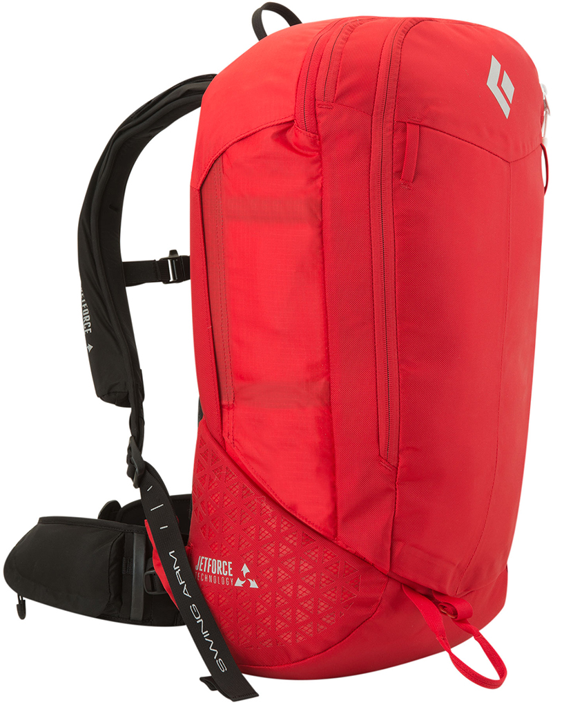 Paul Forward reviews the Black Diamond Halo 28 JetForce airbag backpack, Blister Gear Review.
