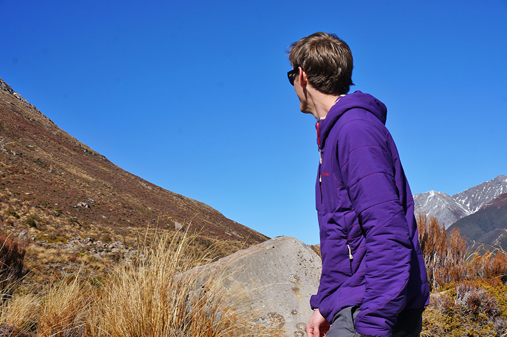 Will Brown reviews the Patagonia Nano Air Hoody, Blister Gear Review.