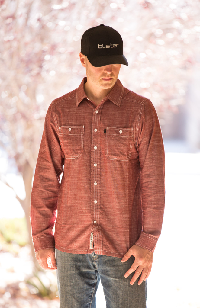 Jonathan Ellsworth reviews the Kavu Charlestown L/S shirt, Blister Gear Review
