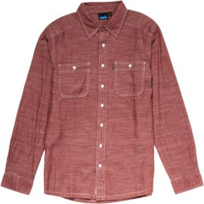 Jonathan Ellsworth reviews the Kavu Charlestown L/S shirt, Blister Gear Review