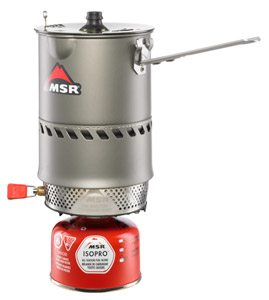Eric Melson Reviews the MSR Reactor 1L stove system, Blister Gear Review
