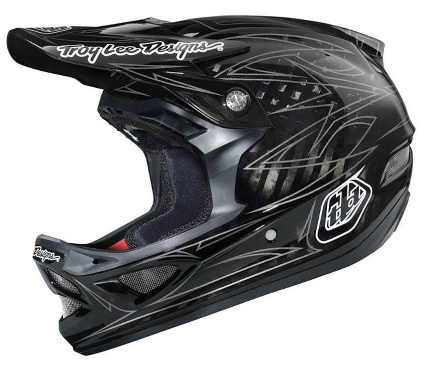 Eric Melson reviews the Troy Lee Designs D3 Carbon Helmet, Blister Gear Review