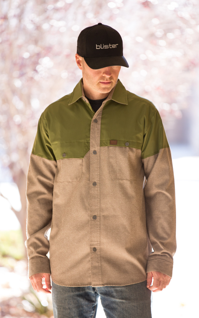 Jonathan Ellsworth reviews the Trew Backcountry Button Up, Blister Gear Review