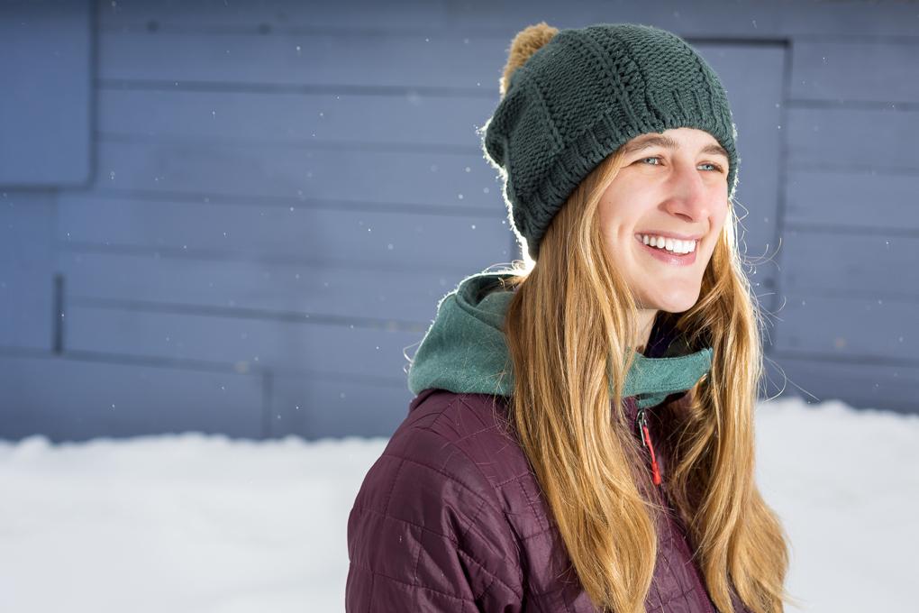 Julia Van Raalte reviews the Burton Answer Beanie, Blister Gear Review