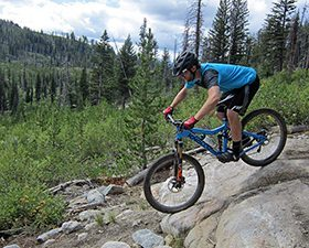 Eric Melson reviews the 2015 Fox 36 Float, Blister Gear Review.