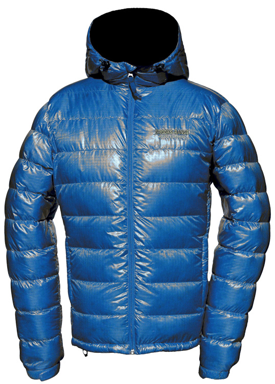 Dave Alie reviews the Brooks-Range Mojave Down Jacket, Blister Gear Review.
