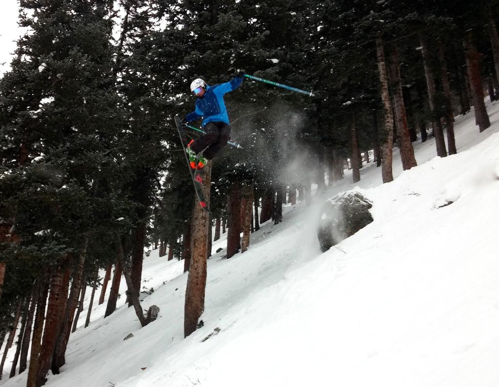 Garrett Altmann, Taos Freeride Comp, Blister Gear Review
