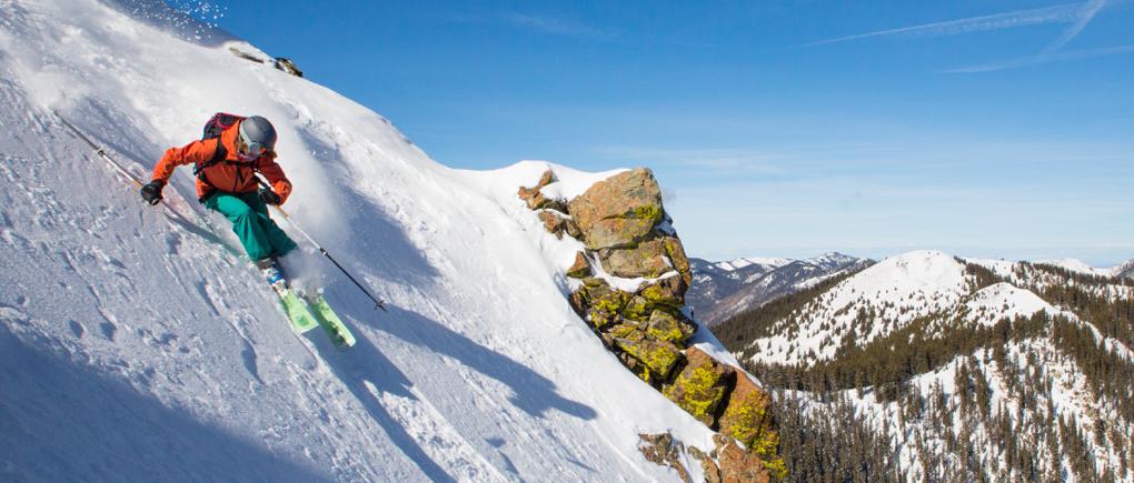 Julia Van Raalte reviews The Romp Skis 106, Blister Gear Review